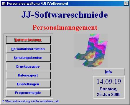 Startbild von Personalverwaltung
